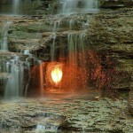 Eternal Flame Falls — Chestnut Ridge Park, Buffalo New York